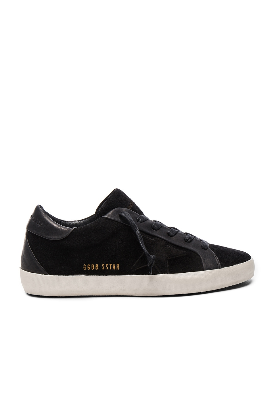 Image 1 of Golden Goose Bespoke Leather Superstar Sneakers in Black