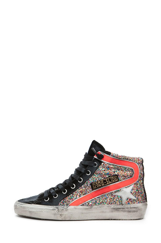 Image 1 of Golden Goose Slide Sneaker in Glitter