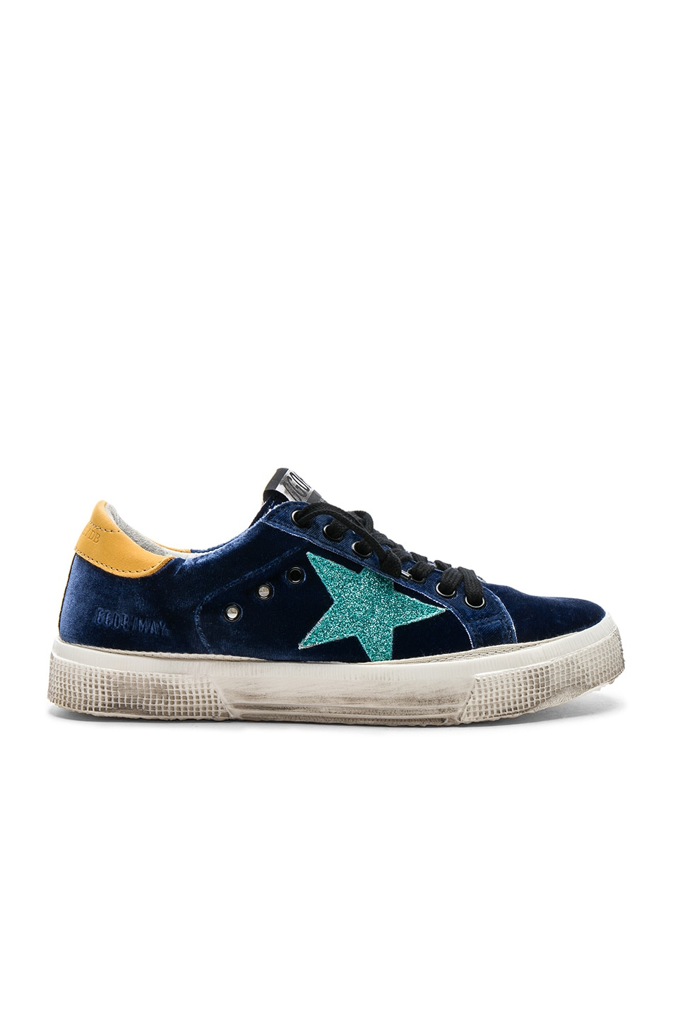 Golden Goose May Distressed Velvet Sneakers Cheapest sale online sale 2015 new for sale 2014 9VN53hc