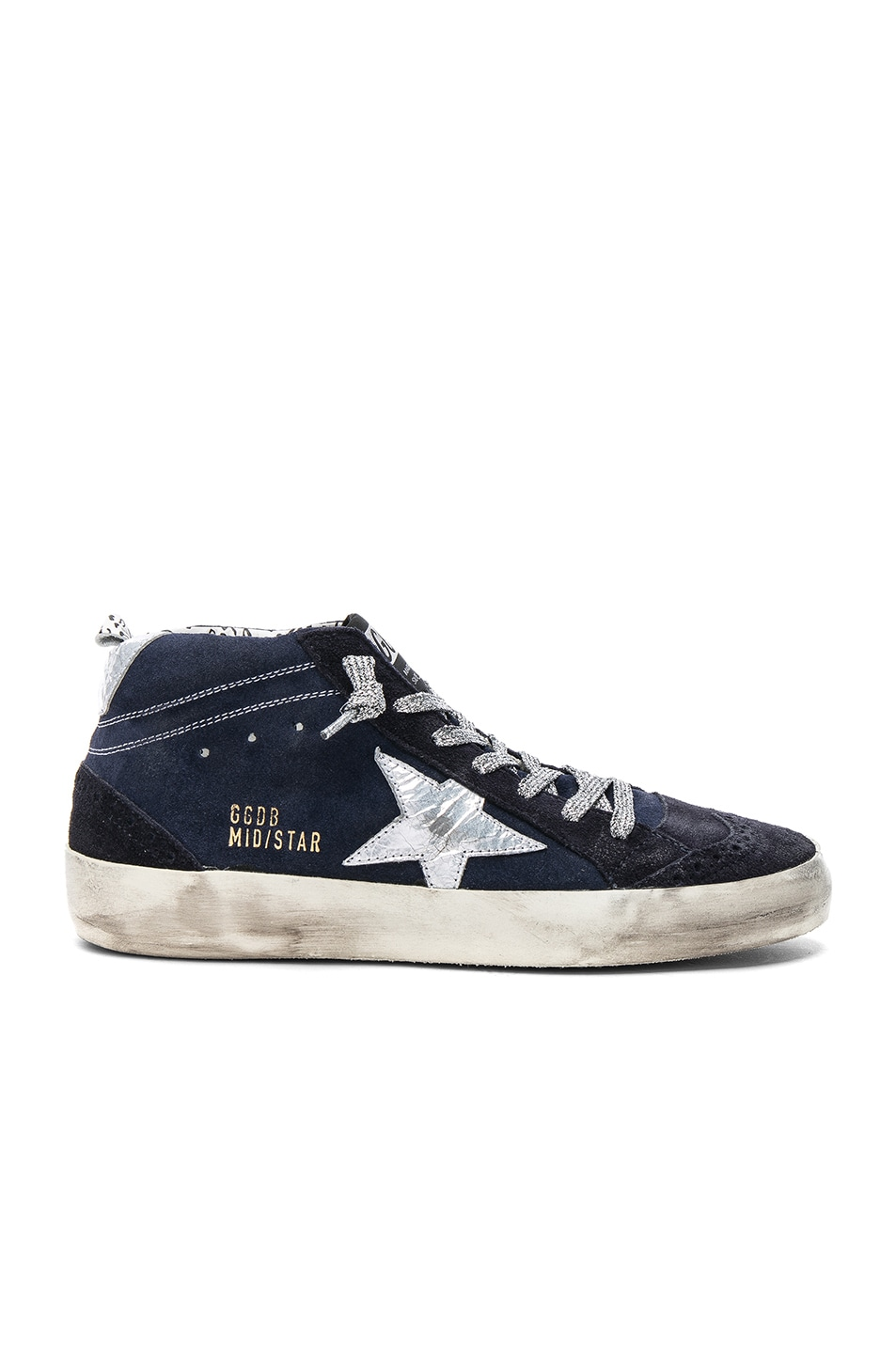 Golden Goose Mid Star suede sneakers kANXDhtTJ