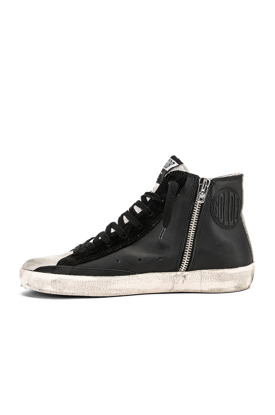 Image 5 of Golden Goose Francy Sneakers in Black Paillettes
