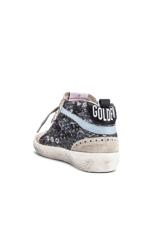 Image 3 of Golden Goose Mid Star Sneaker in Multicolor & White