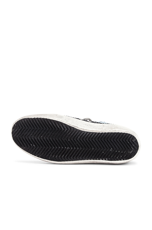 Image 6 of Golden Goose Mid Star Sneaker in Multicolor & White
