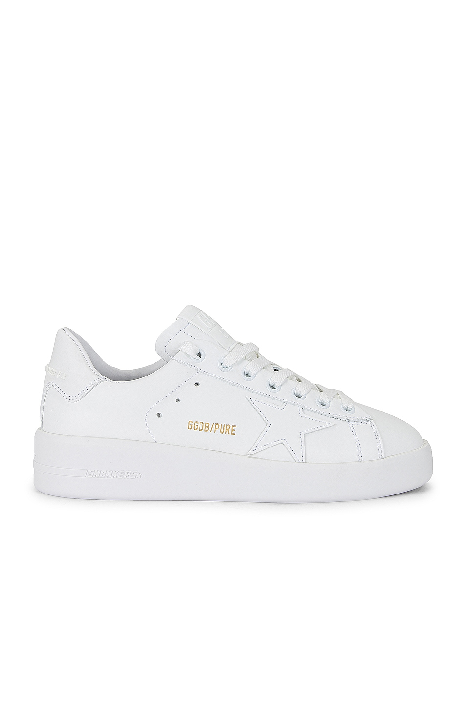 Image 1 of Golden Goose Pure Star Sneaker in Optic White