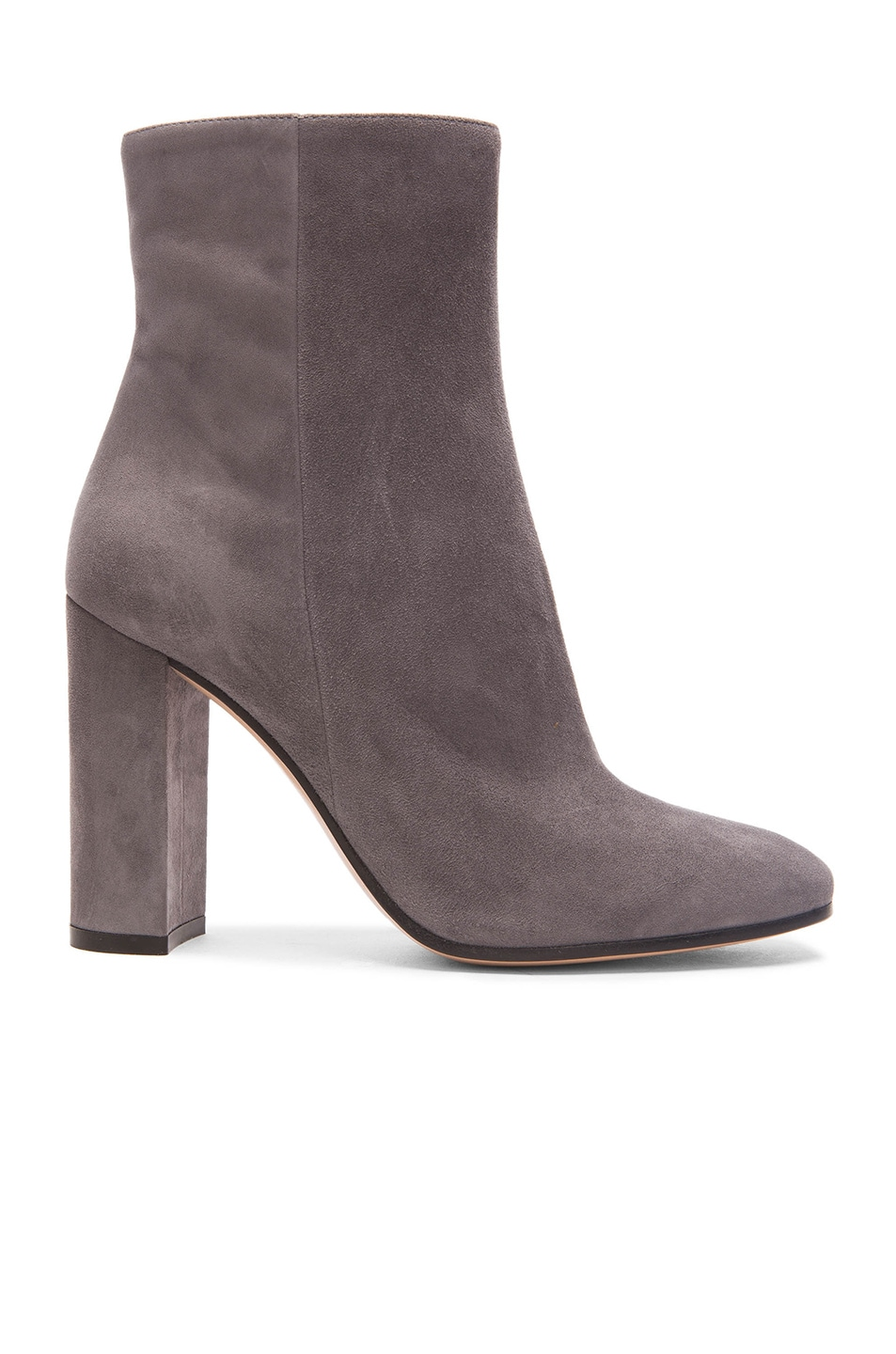 Image 1 of Gianvito Rossi Suede Booties in Lapis