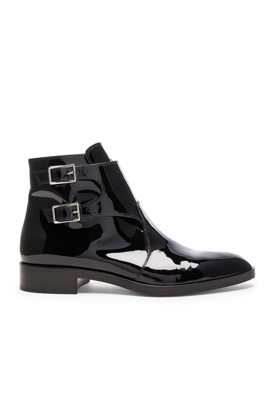 Image 1 of Gianvito Rossi Patent Leather Boots in Black