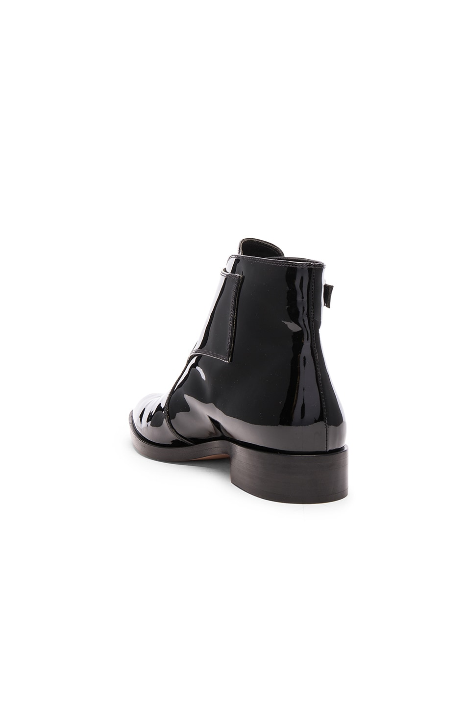 Image 3 of Gianvito Rossi Patent Leather Boots in Black