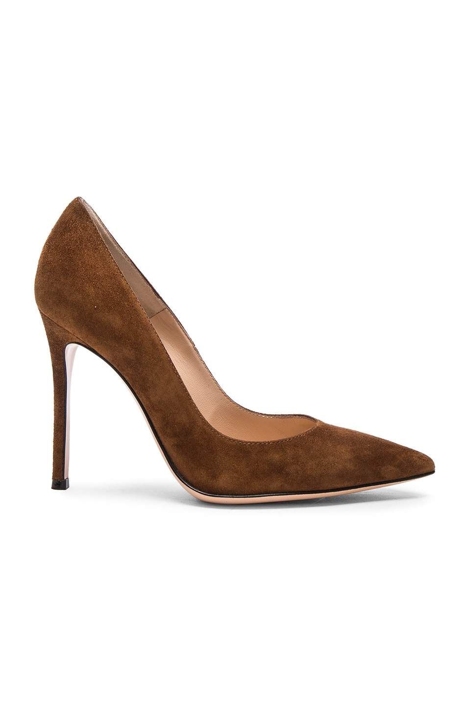 Image 1 of Gianvito Rossi Suede Pumps in Texas