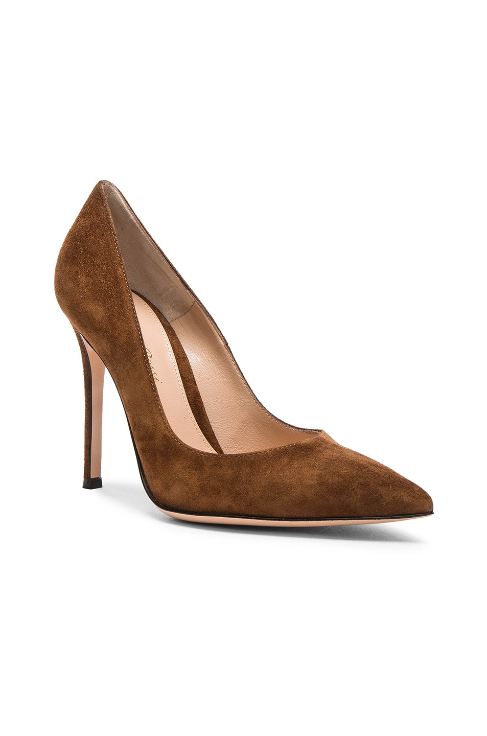 Image 2 of Gianvito Rossi Suede Pumps in Texas