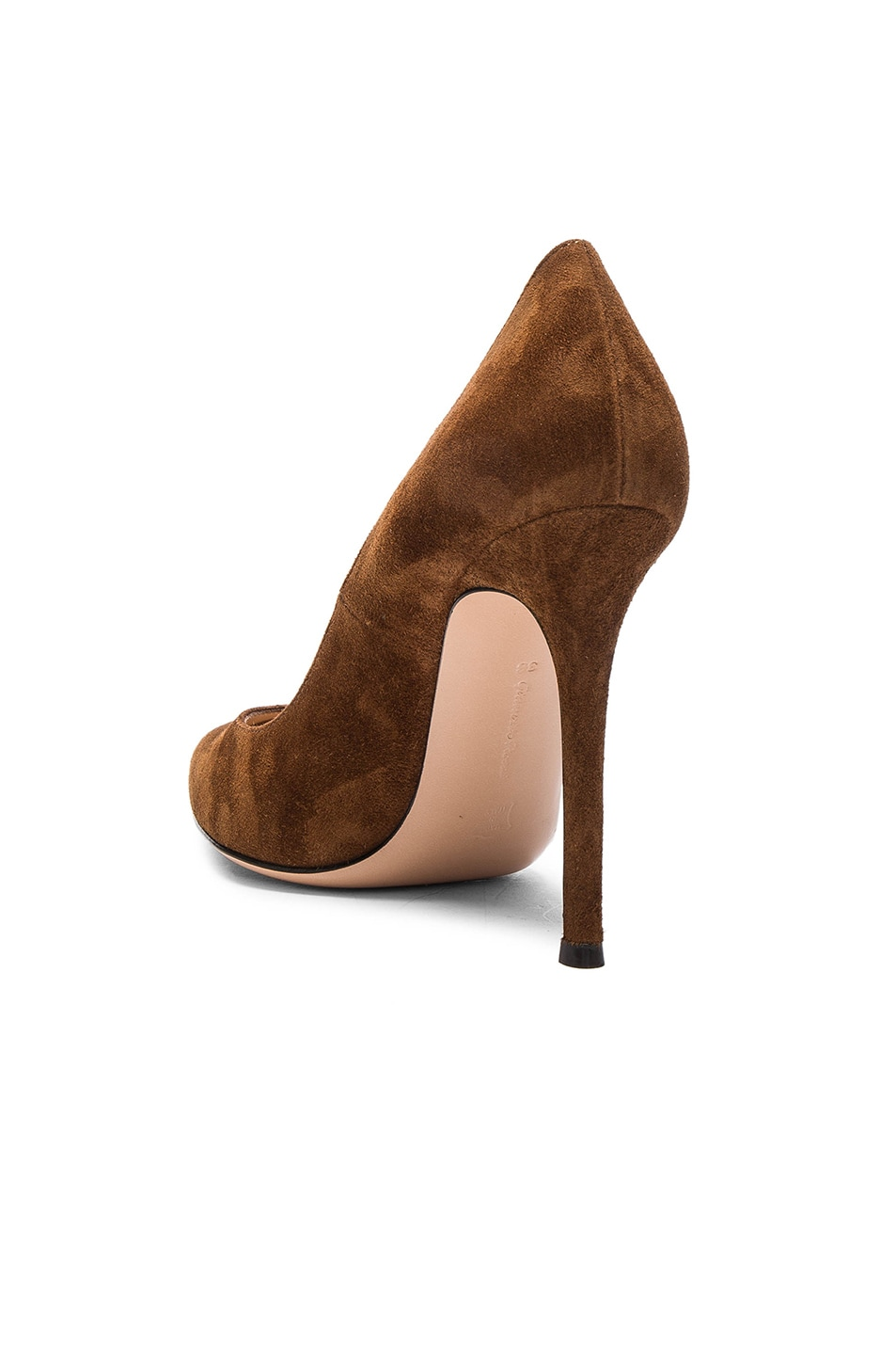 Image 3 of Gianvito Rossi Suede Pumps in Texas