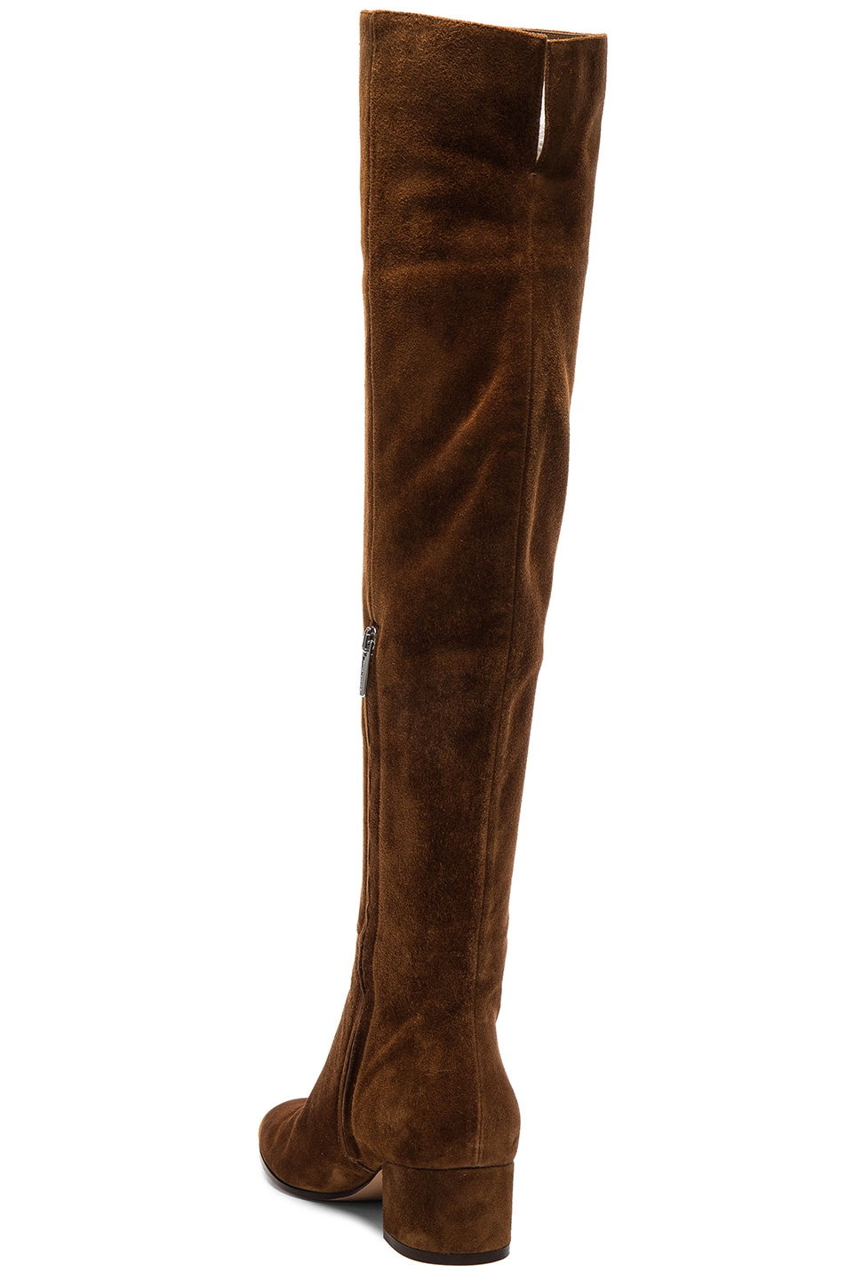 Image 3 of Gianvito Rossi Suede Over The Knee Boots in Texas