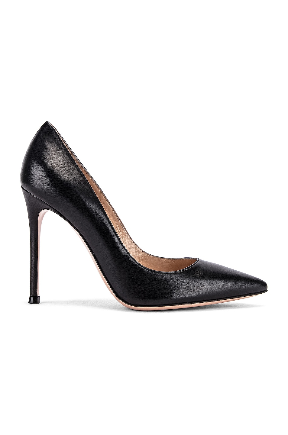Image 1 of Gianvito Rossi Leather Pumps in Black
