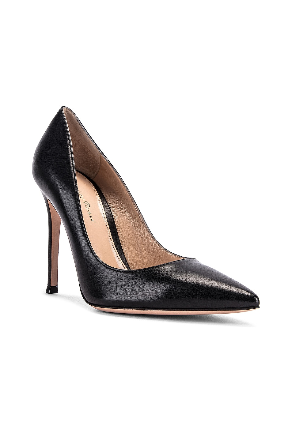Image 2 of Gianvito Rossi Leather Pumps in Black