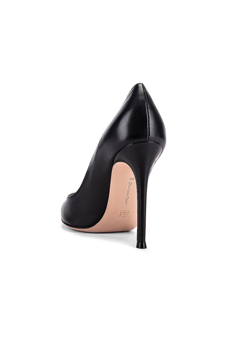 Image 3 of Gianvito Rossi Leather Pumps in Black