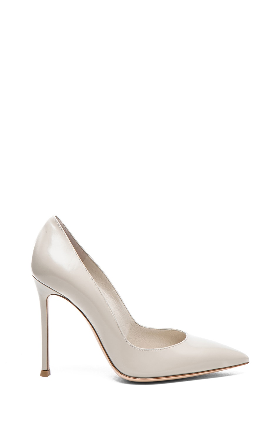 Image 1 of Gianvito Rossi Leather Pumps in Shell