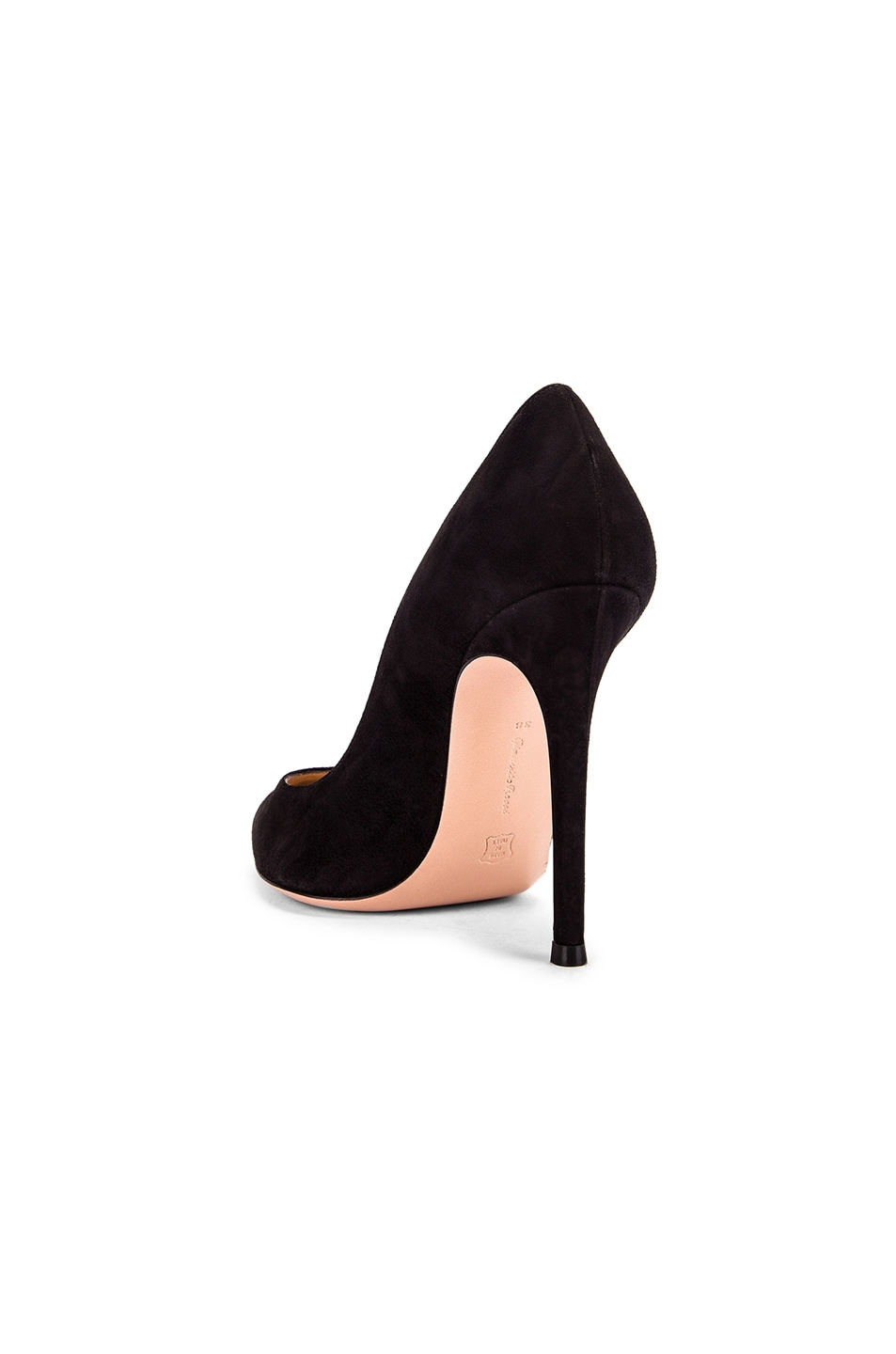 Image 3 of Gianvito Rossi Suede Gianvito Pumps in Black