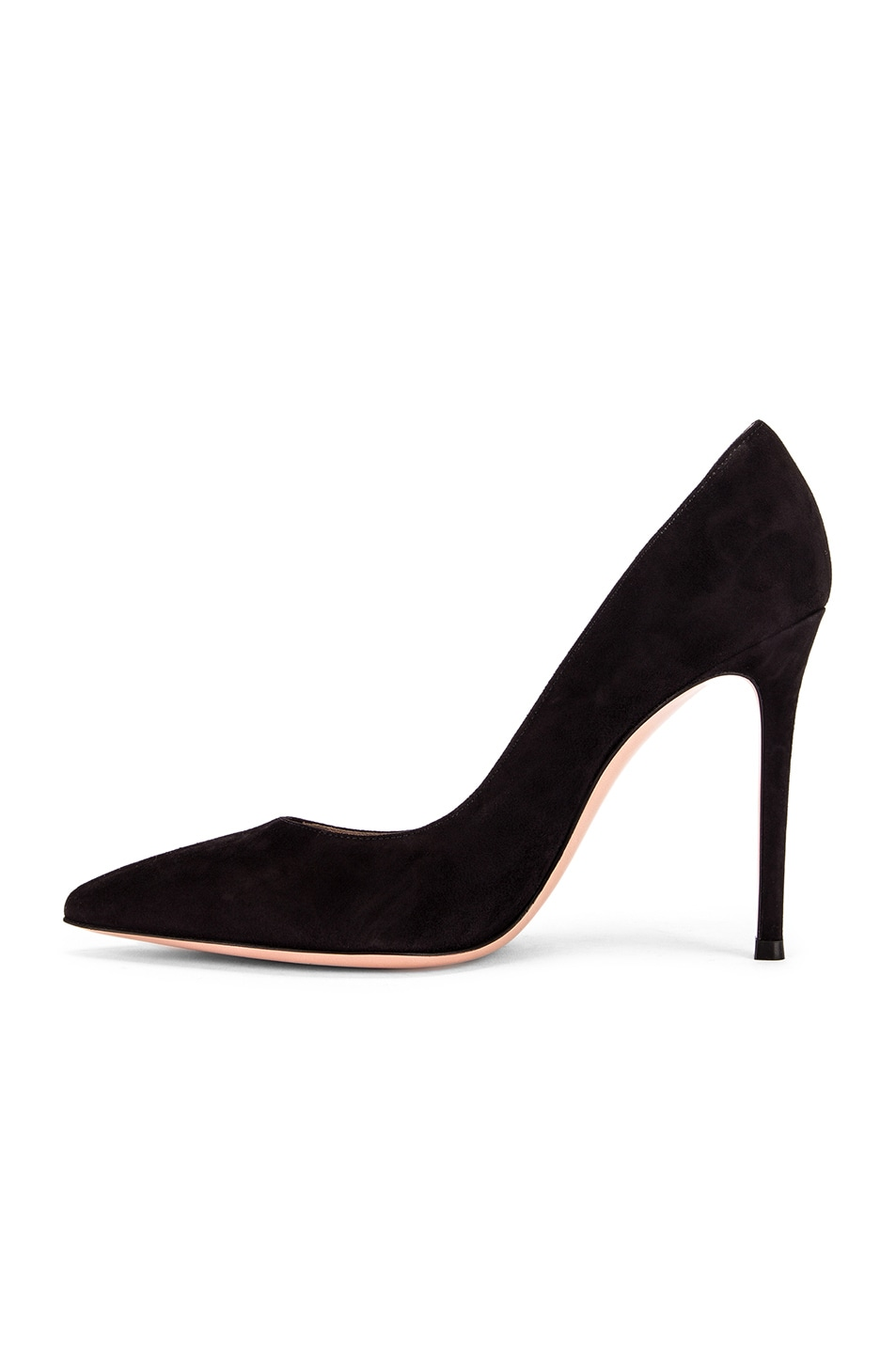 Image 5 of Gianvito Rossi Suede Gianvito Pumps in Black