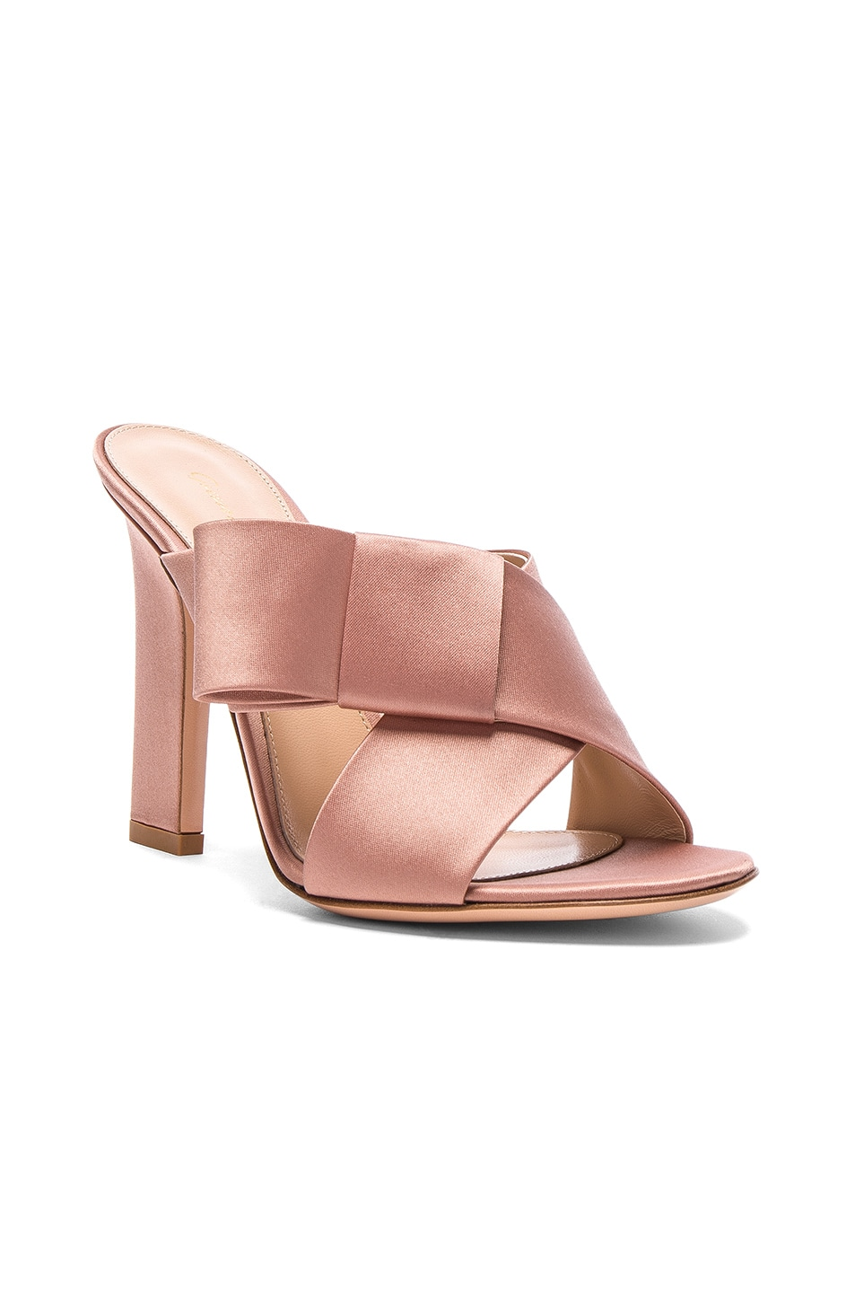 cheap outlet store Gianvito Rossi bow mules big discount cheap price L8QcSFYm