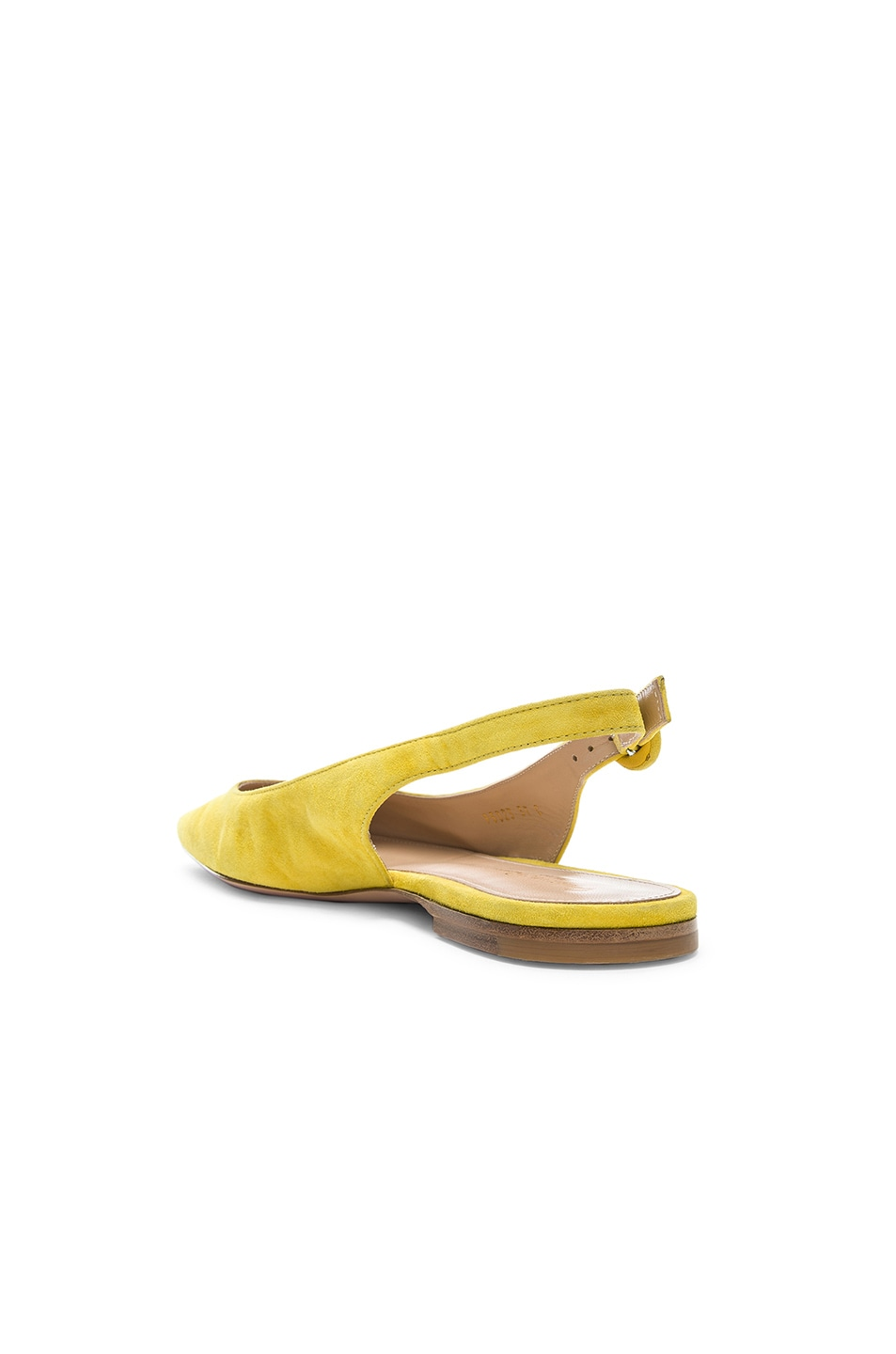 Image 3 of Gianvito Rossi Tish Slingback Flat in Mimosa