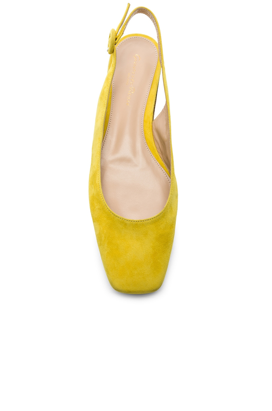 Image 4 of Gianvito Rossi Tish Slingback Flat in Mimosa