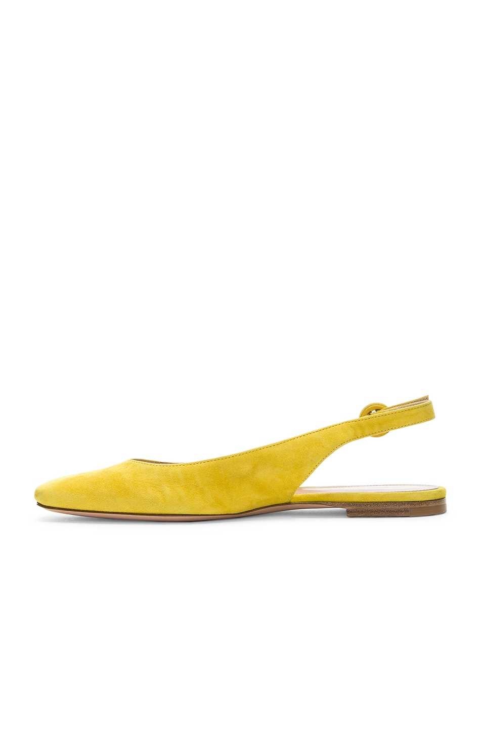 Image 5 of Gianvito Rossi Tish Slingback Flat in Mimosa