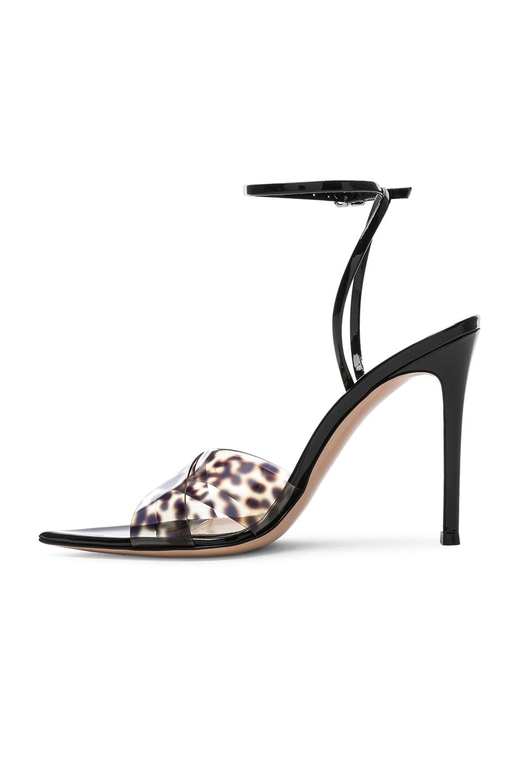 Image 5 of Gianvito Rossi Stark Leopard Heel in Leopard & Black
