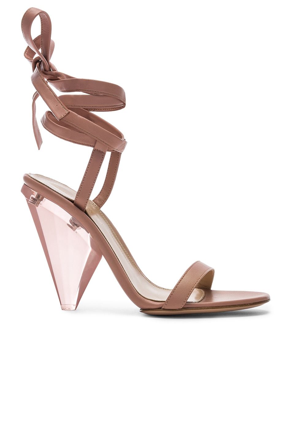 Image 1 of Gianvito Rossi Palace Strappy Heel in Dahlia