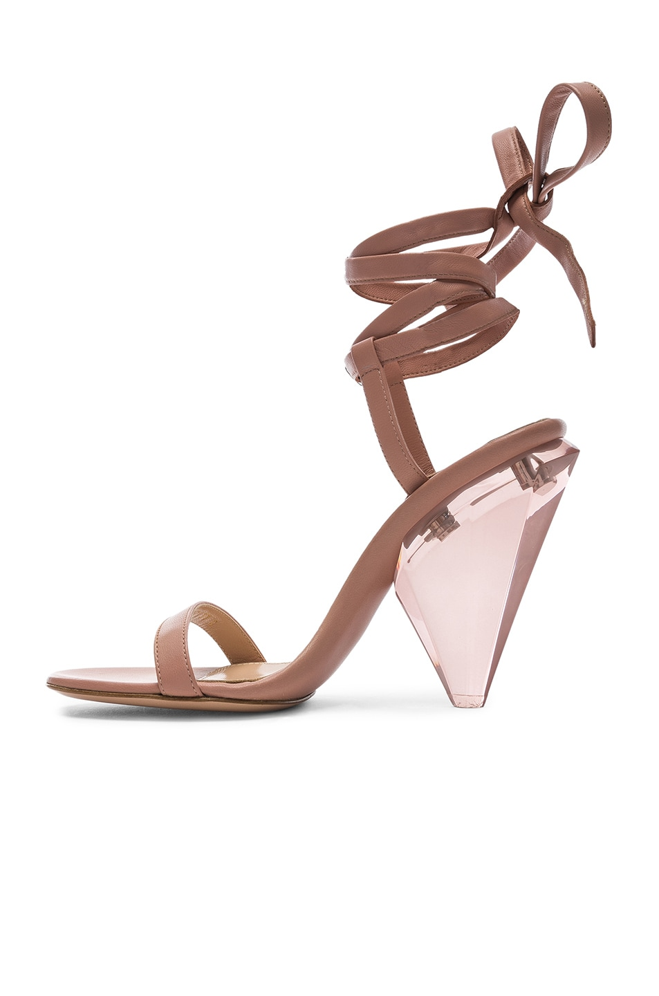 Image 5 of Gianvito Rossi Palace Strappy Heel in Dahlia
