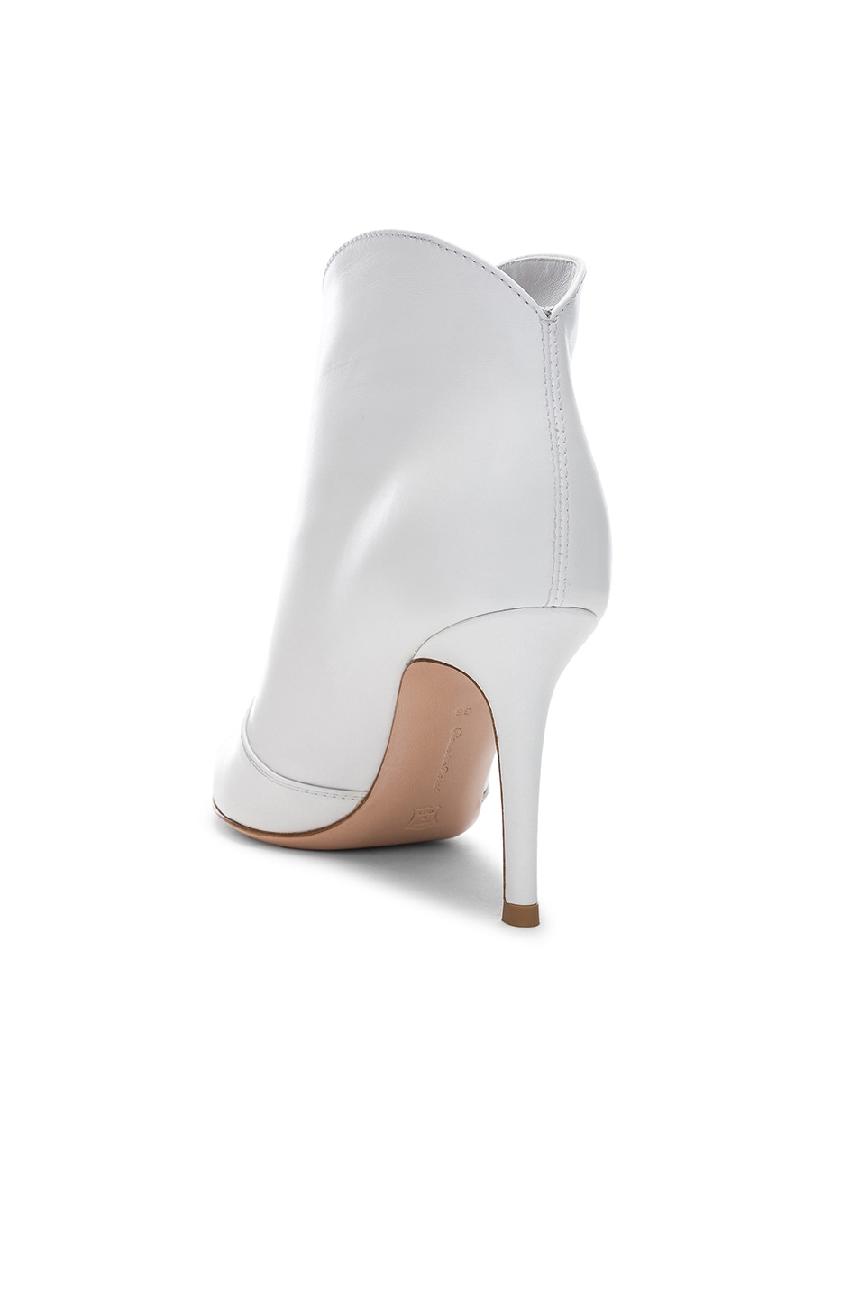 Image 3 of Gianvito Rossi Mable Mid Booties in White