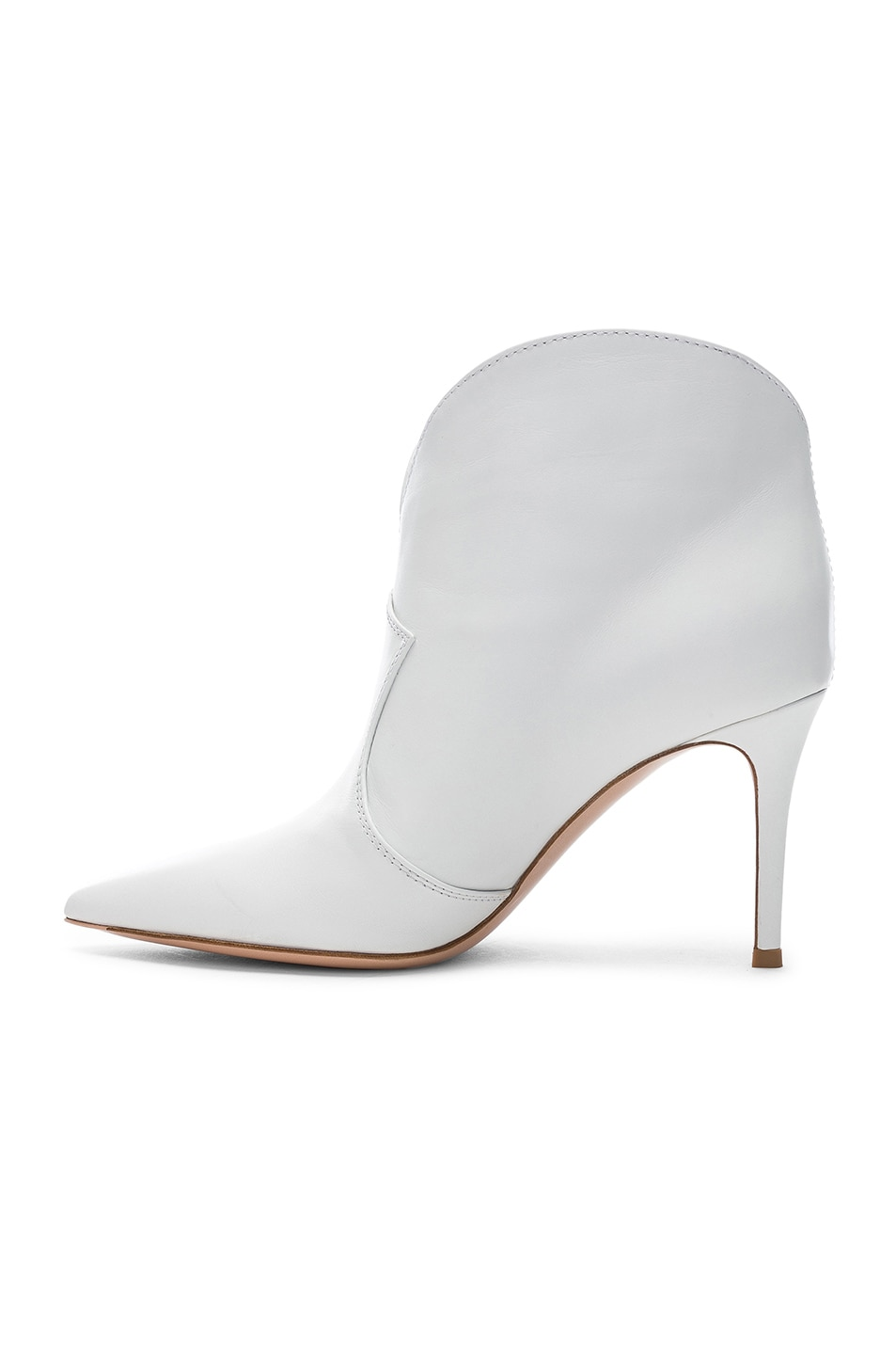 Image 5 of Gianvito Rossi Mable Mid Booties in White