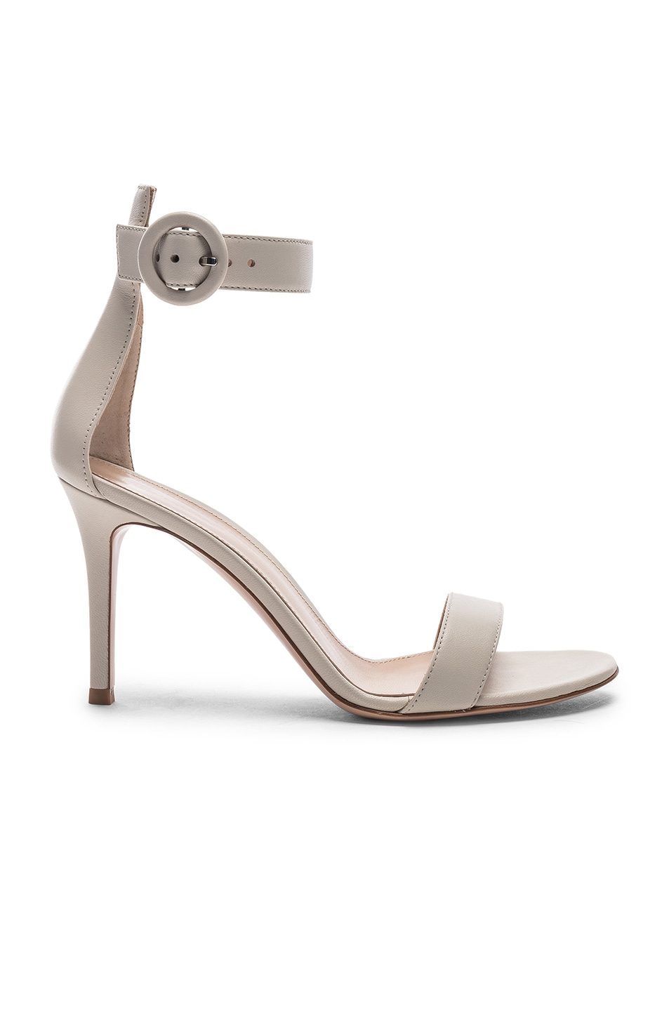 Image 1 of Gianvito Rossi Portofino Heels in Off White