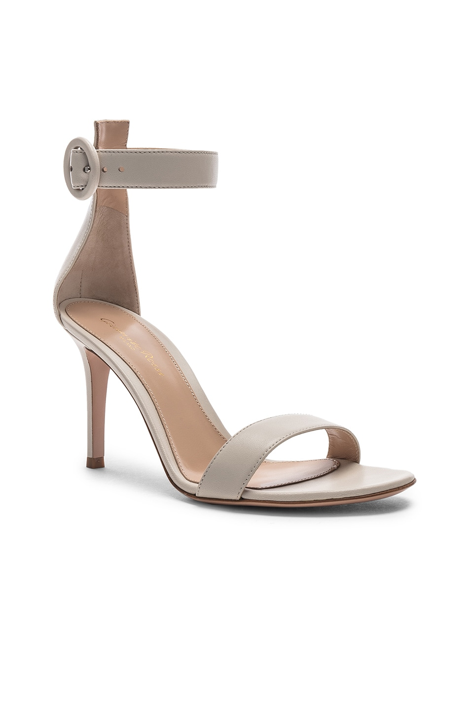 Image 2 of Gianvito Rossi Portofino Heels in Off White