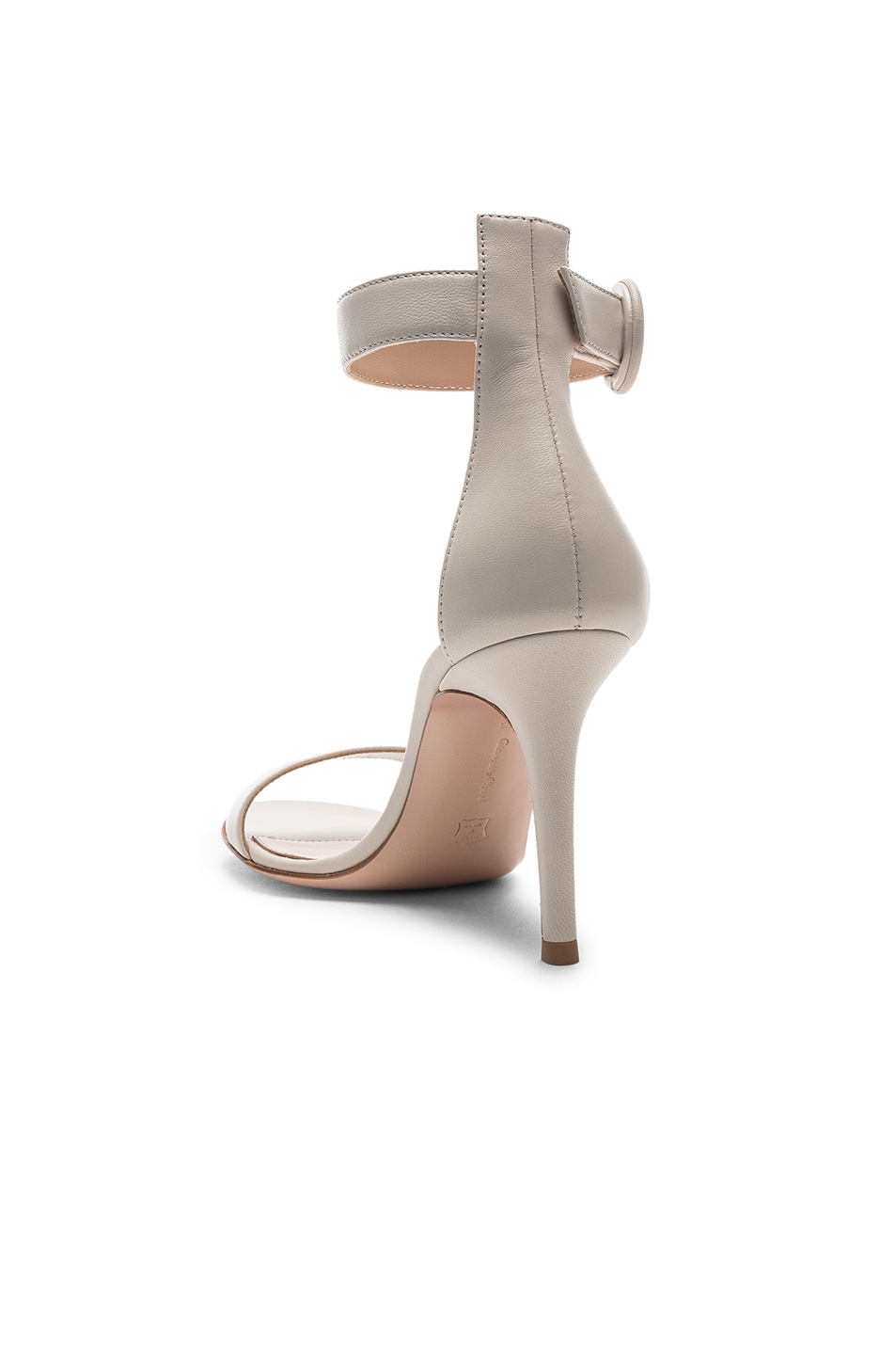 Image 3 of Gianvito Rossi Portofino Heels in Off White