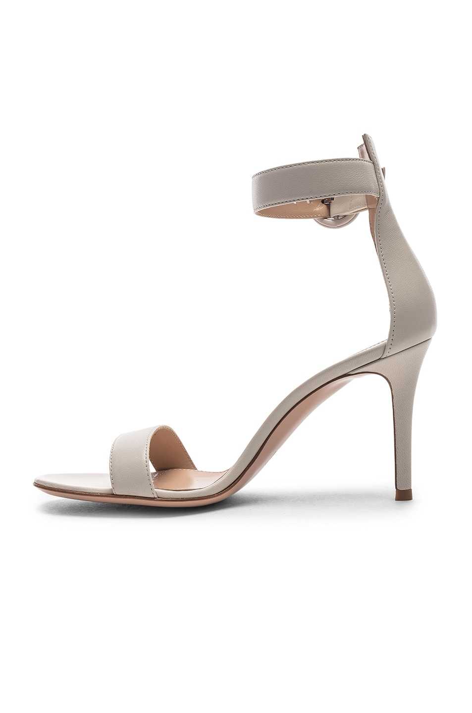 Image 5 of Gianvito Rossi Portofino Heels in Off White