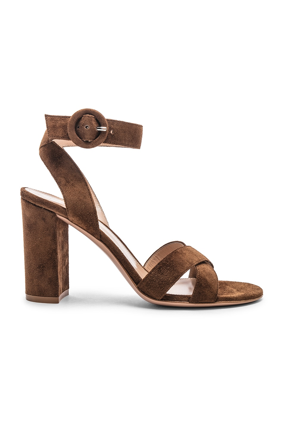 Image 1 of Gianvito Rossi Camoscio Sandals in Texas