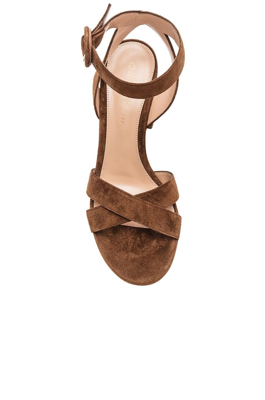 Image 4 of Gianvito Rossi Camoscio Sandals in Texas