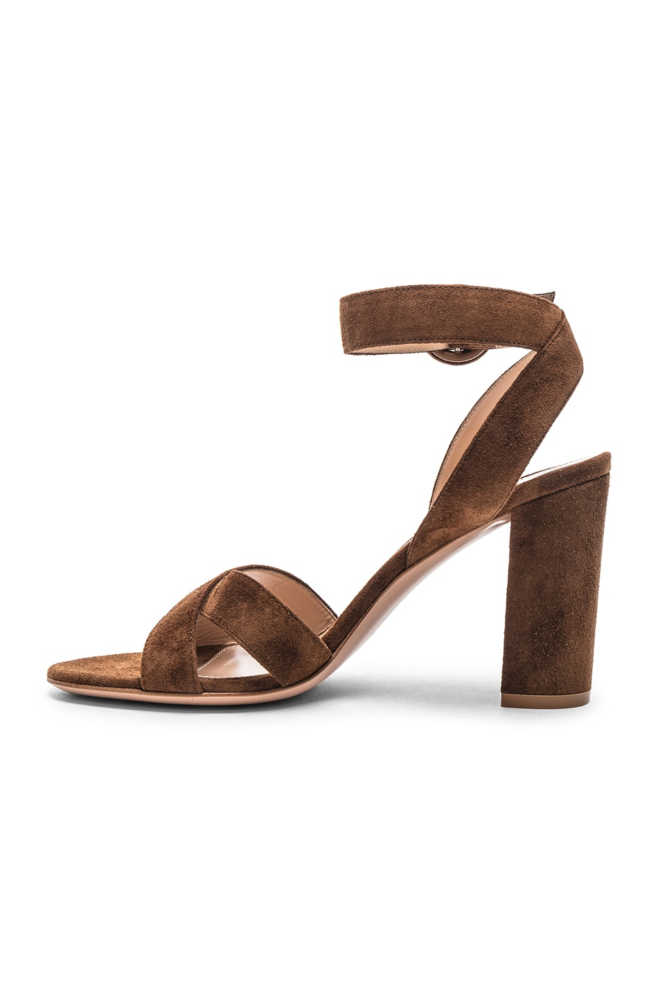 Image 5 of Gianvito Rossi Camoscio Sandals in Texas