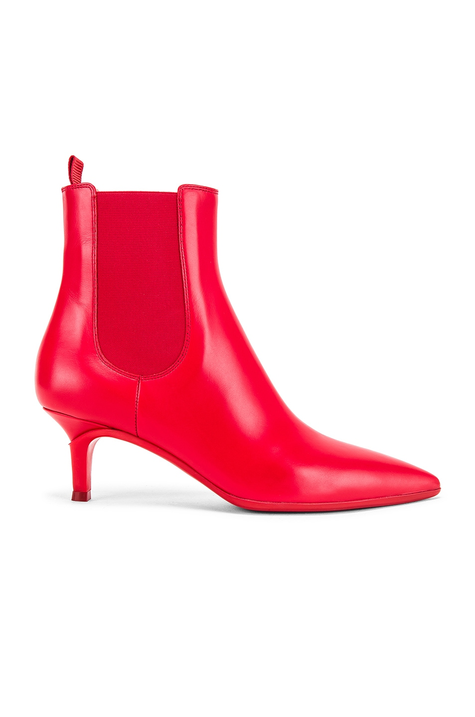 Image 1 of Gianvito Rossi Ankle Bootie in Tabasco Red