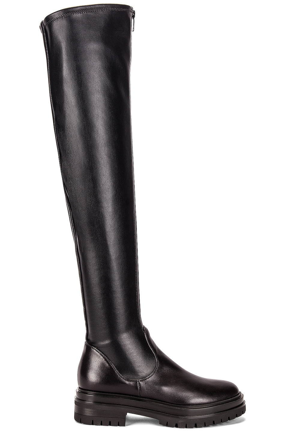 Image 1 of Gianvito Rossi Over the Knee Boots in Black
