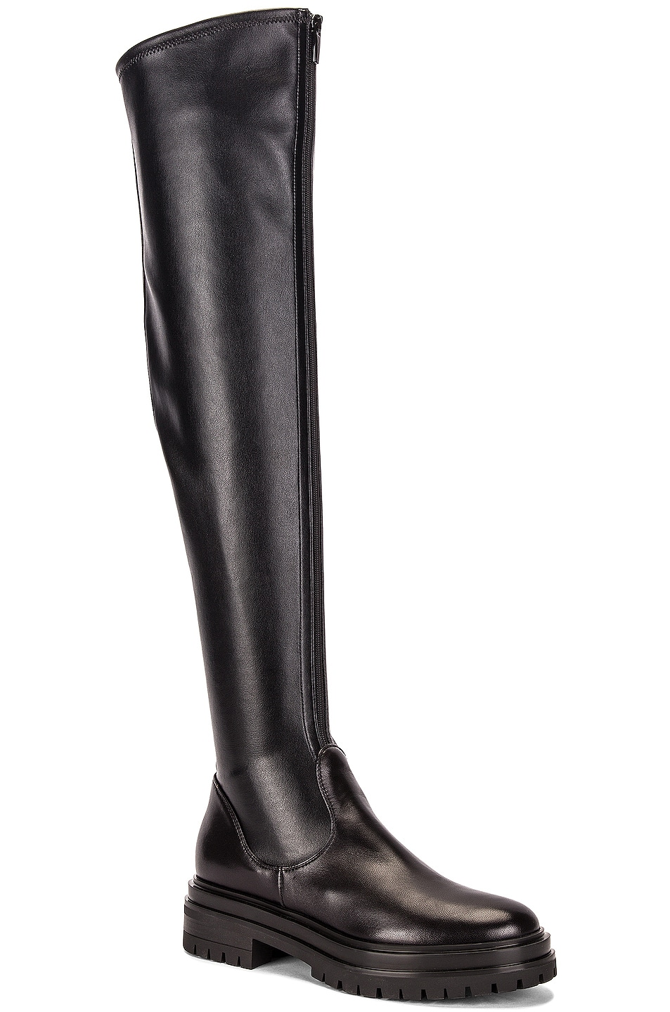 Image 2 of Gianvito Rossi Over the Knee Boots in Black