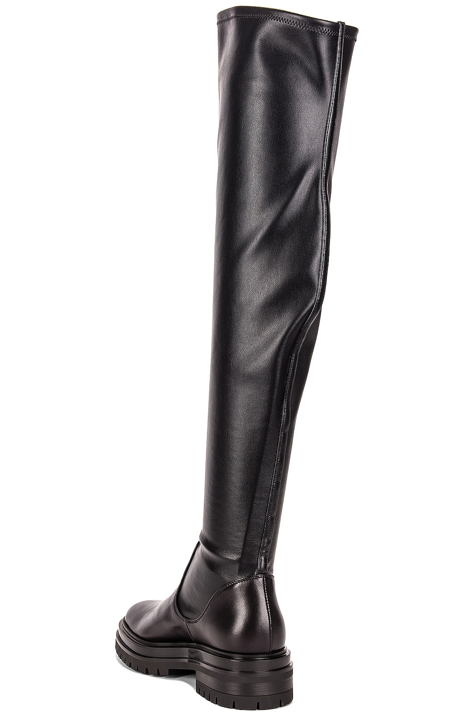Image 3 of Gianvito Rossi Over the Knee Boots in Black