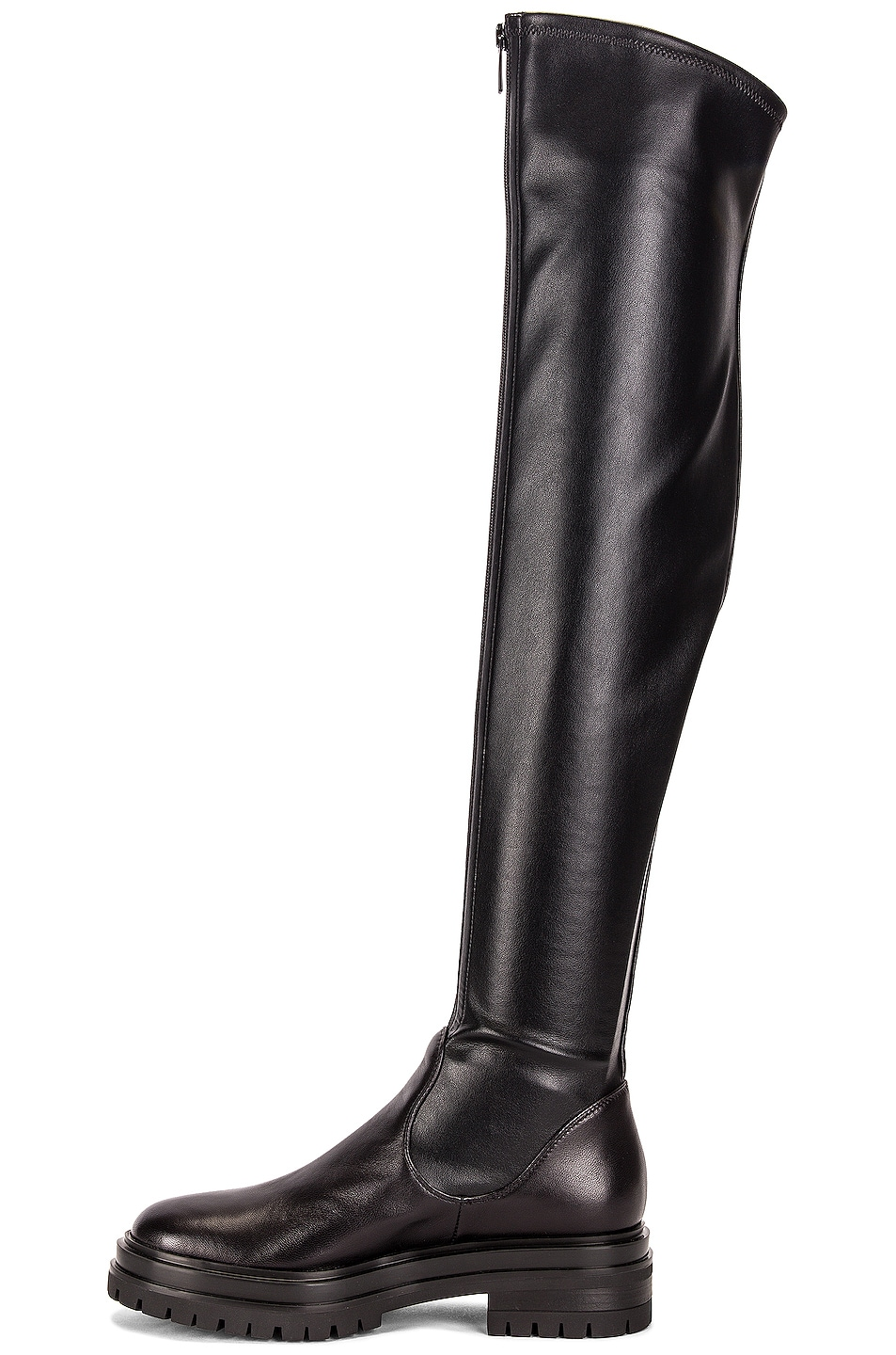 Image 5 of Gianvito Rossi Over the Knee Boots in Black