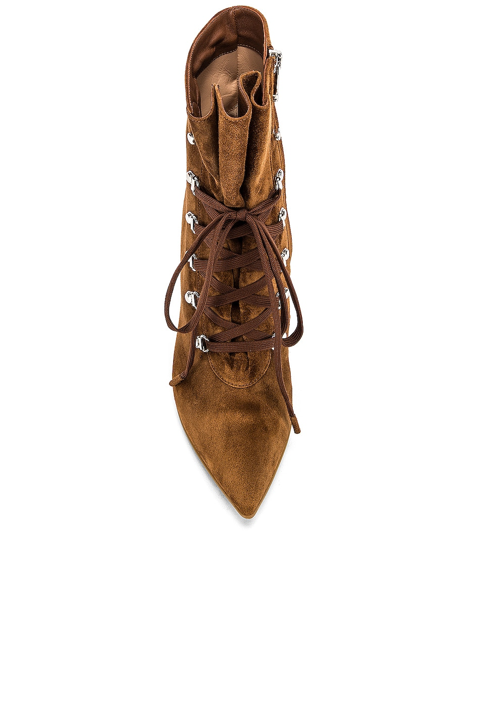 Image 4 of Gianvito Rossi Lace Up Ankle Booties in Texas