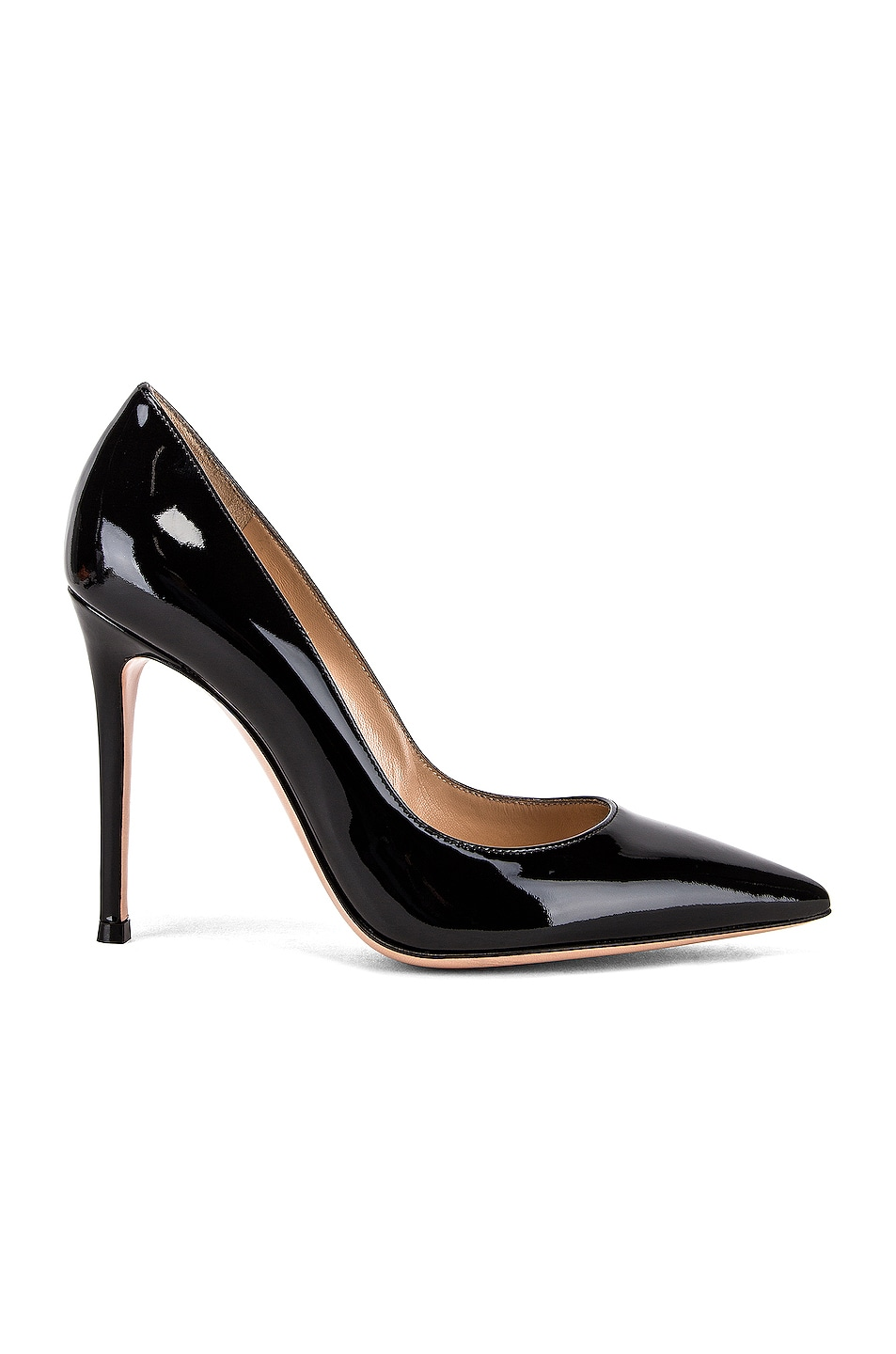 Image 1 of Gianvito Rossi Patent Leather Gianvito Pumps in Black