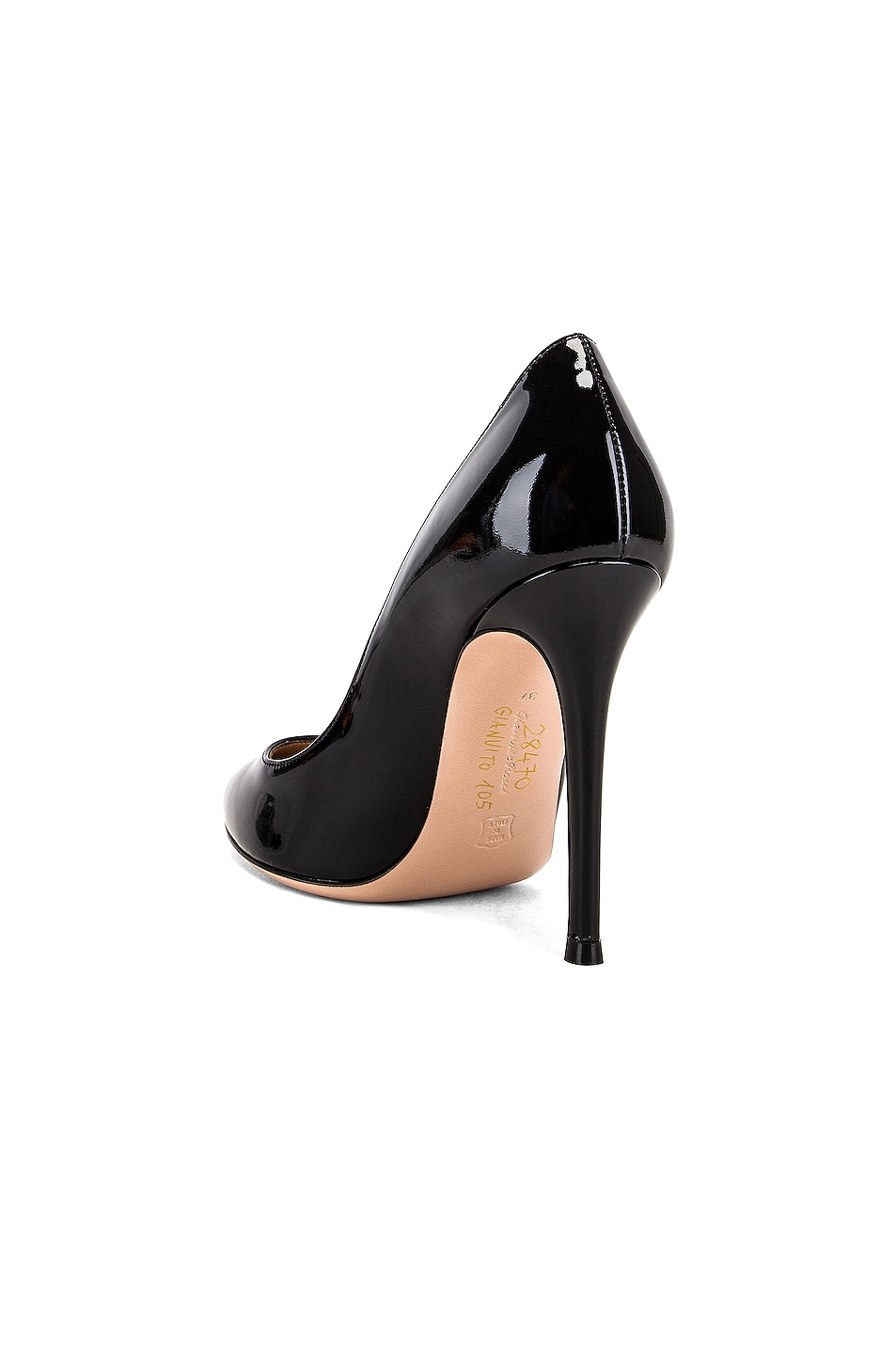 Image 3 of Gianvito Rossi Patent Leather Gianvito Pumps in Black