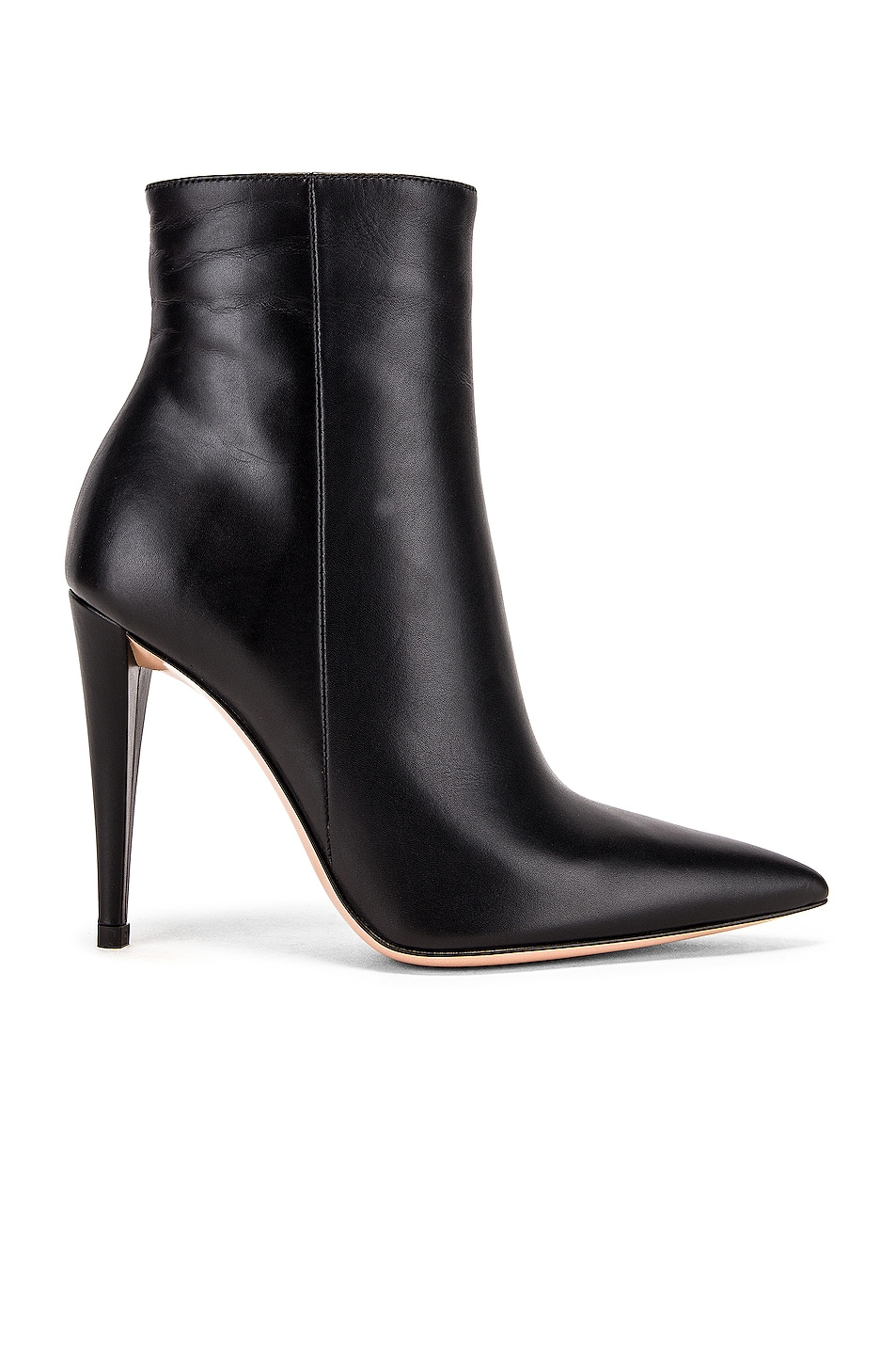 Image 1 of Gianvito Rossi Scarlet Ankle Heel Booties in Black