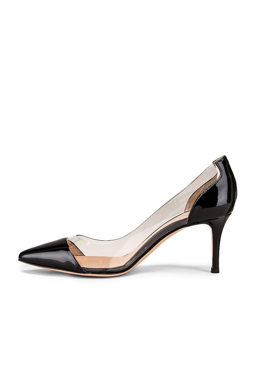 Image 5 of Gianvito Rossi Plexi Heels in Black & Transparent