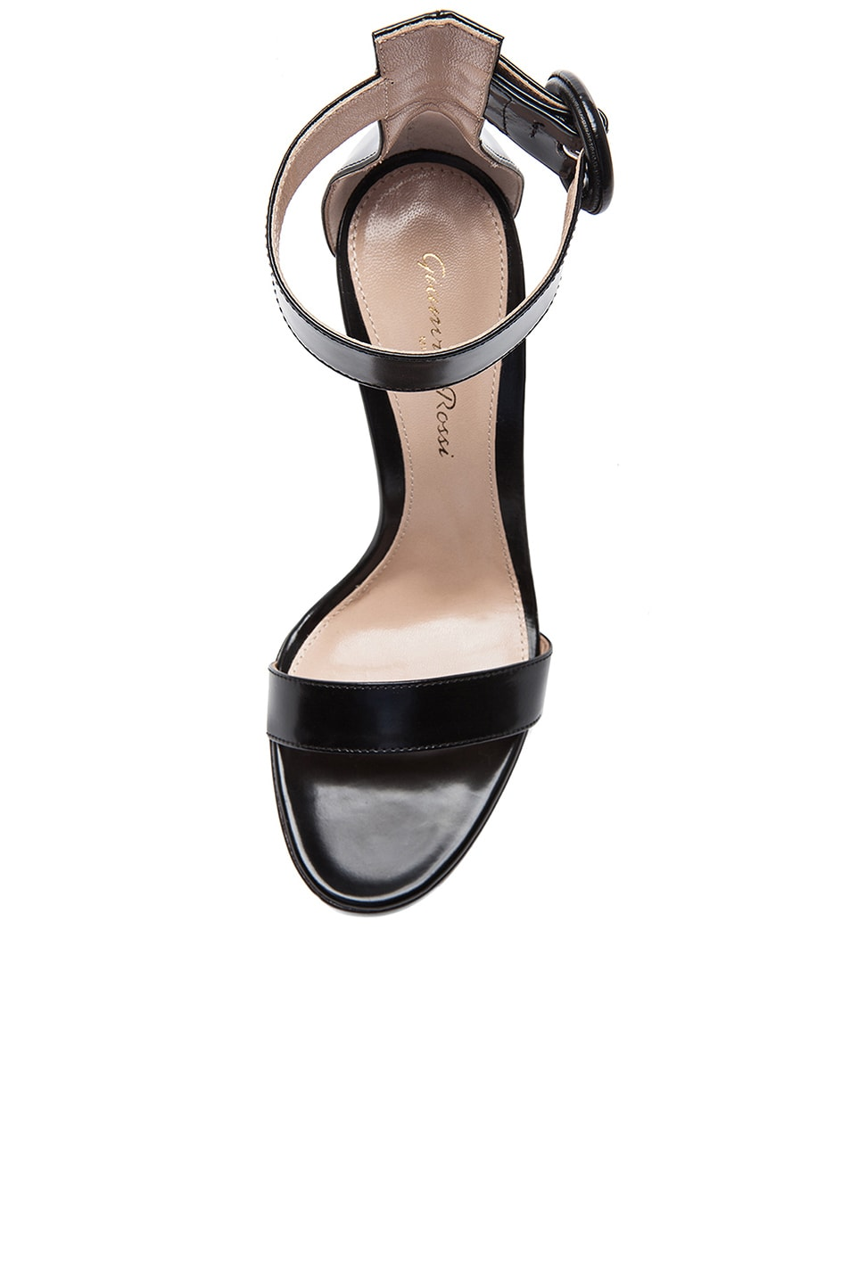 Image 4 of Gianvito Rossi Patent Portofino Heels in Black