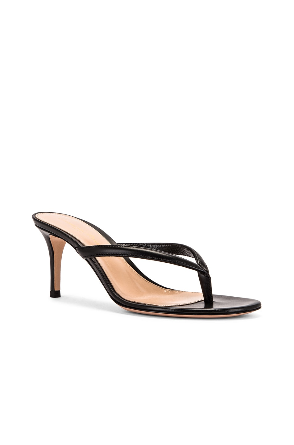 Image 2 of Gianvito Rossi Thong Sandals in Black