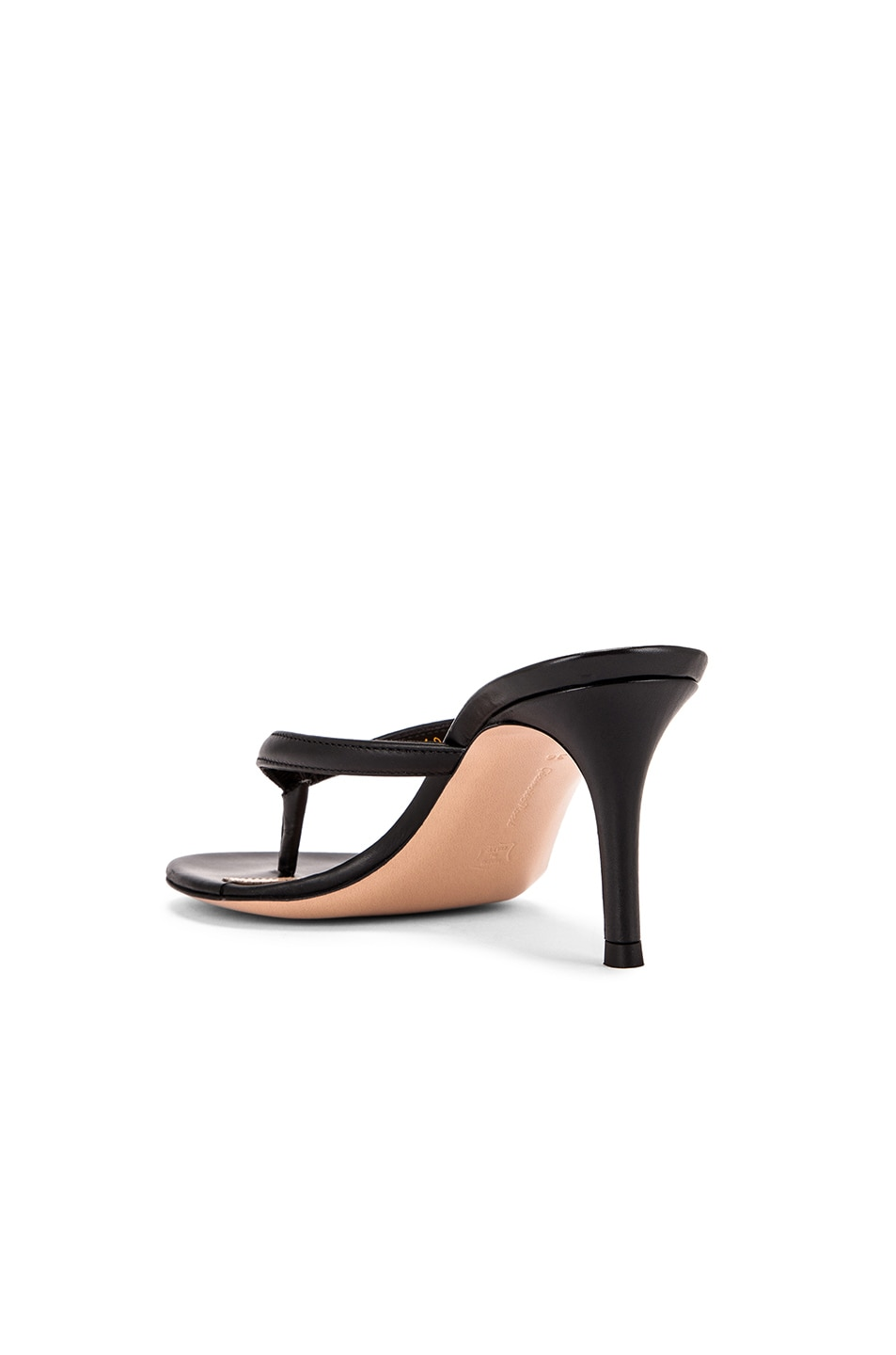 Image 3 of Gianvito Rossi Thong Sandals in Black